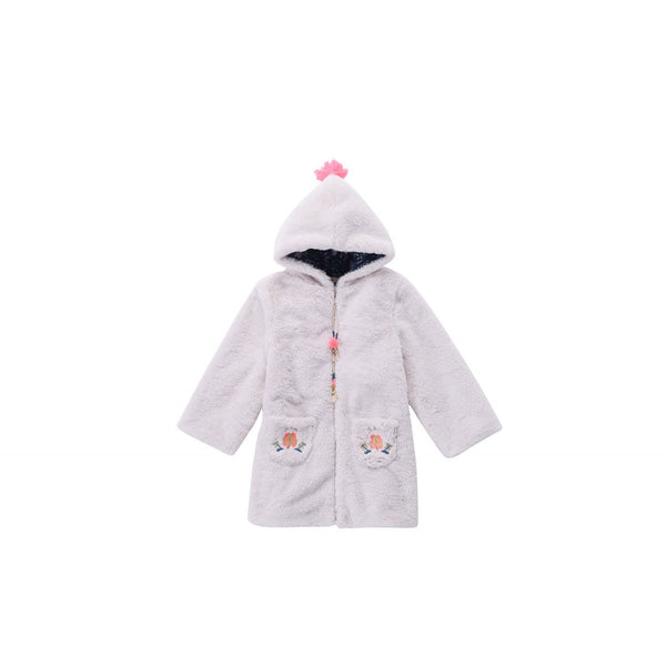 Girls Cream Coat