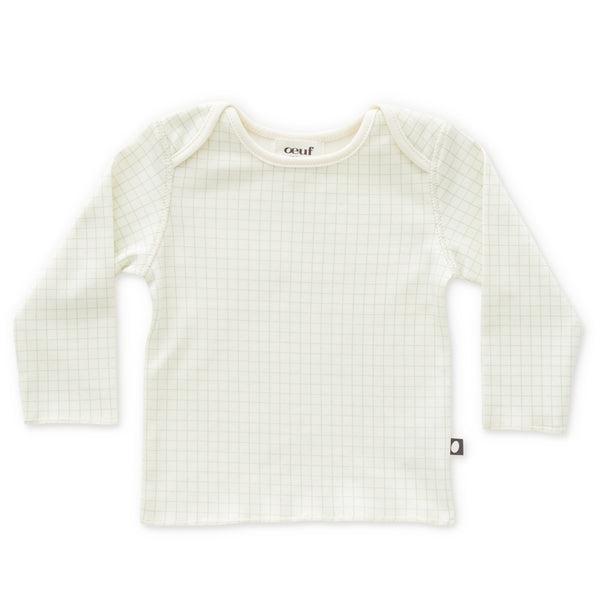 Baby Boys & Girls White Check Cotton Shirt
