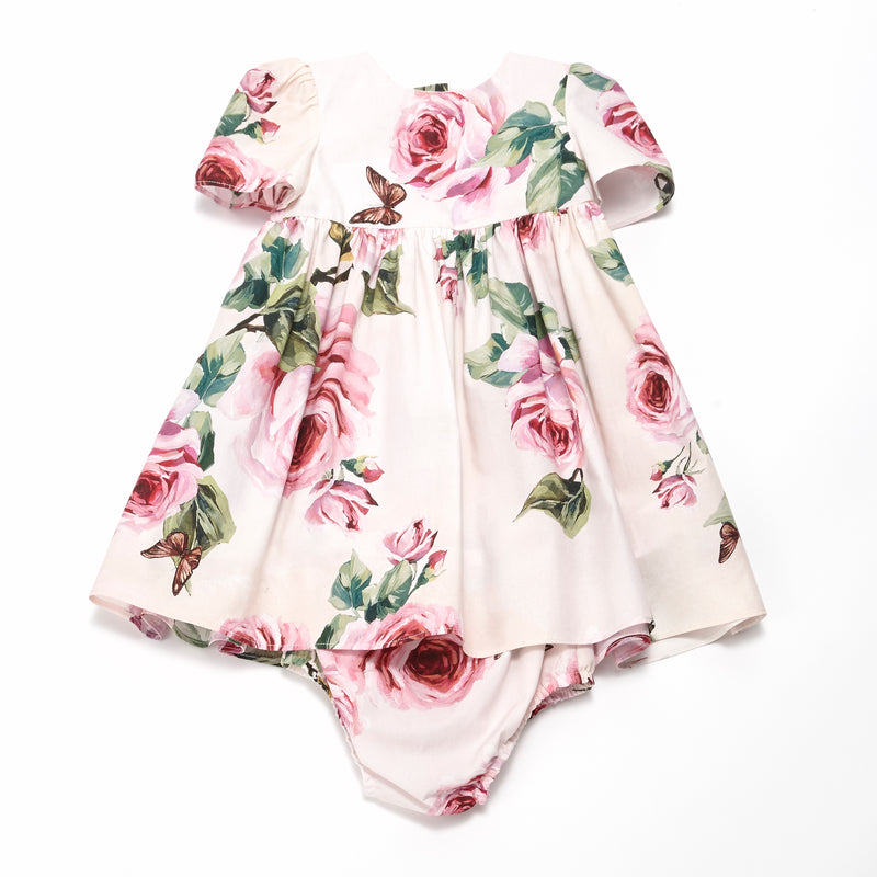 "Baby  Girls  Pale pink   ""Butterfly""  Dress"