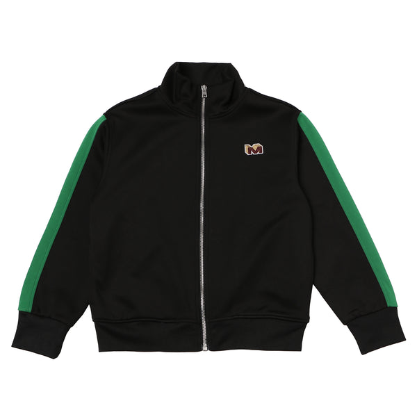 Boys Black & Green Jacket