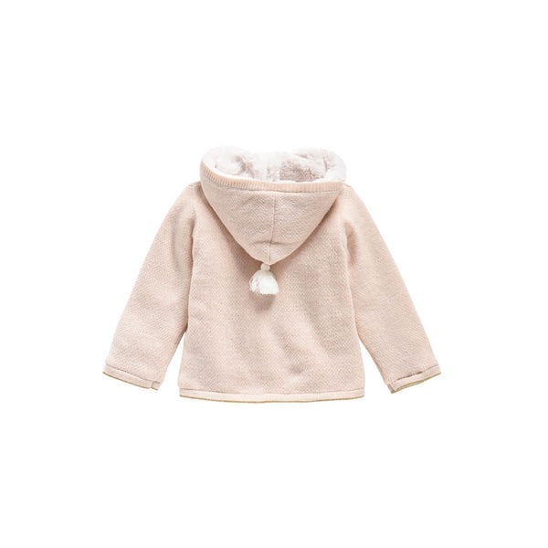 Girls Blossom Acrylic Sweater