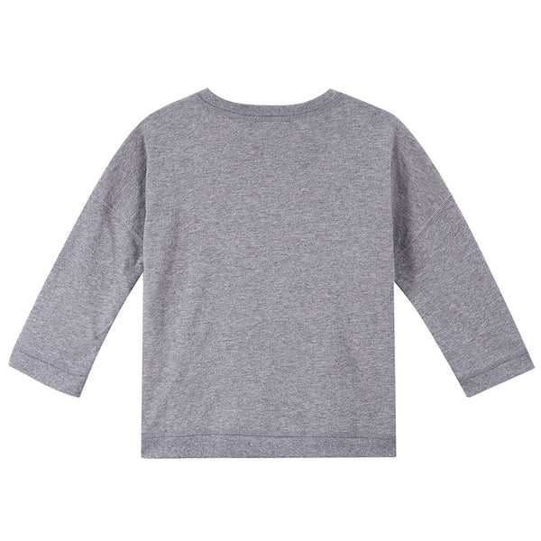 Boys Dark Grey Car Printed Cotton T-Shirt - CÉMAROSE | Children's Fashion Store - 2
