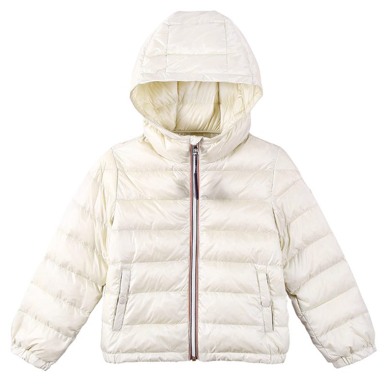 Baby Boys White Down Padded Hooded 'Dominic' Jacket - CÉMAROSE | Children's Fashion Store - 1
