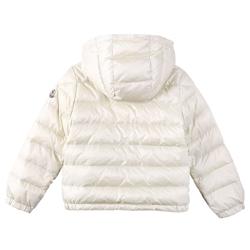 Baby Boys White Down Padded Hooded 'Dominic' Jacket - CÉMAROSE | Children's Fashion Store - 2