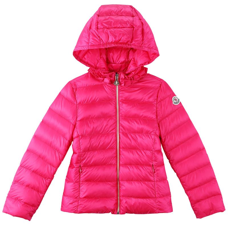 Girls Rose Red Down Padded Hooded 'Iraida' Jackets - CÉMAROSE | Children's Fashion Store - 1