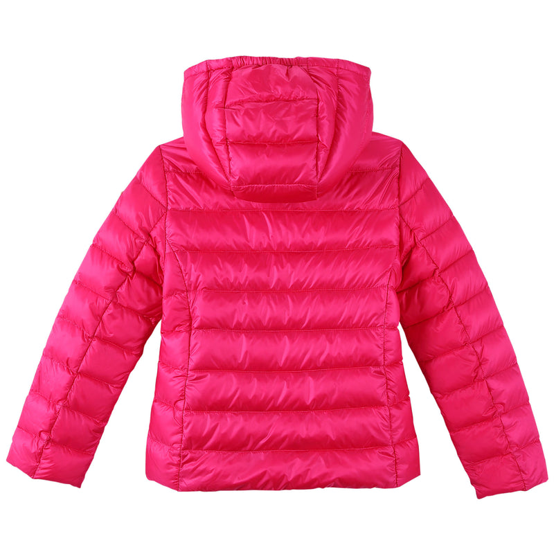 Girls Rose Red Down Padded Hooded 'Iraida' Jackets - CÉMAROSE | Children's Fashion Store - 2