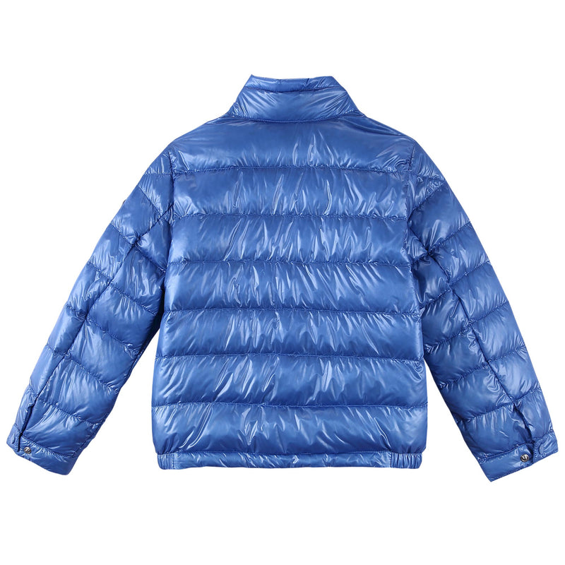 Boys Blue Down Padded 'Acrous' Jacket With Hidden Pocket - CÉMAROSE | Children's Fashion Store - 2