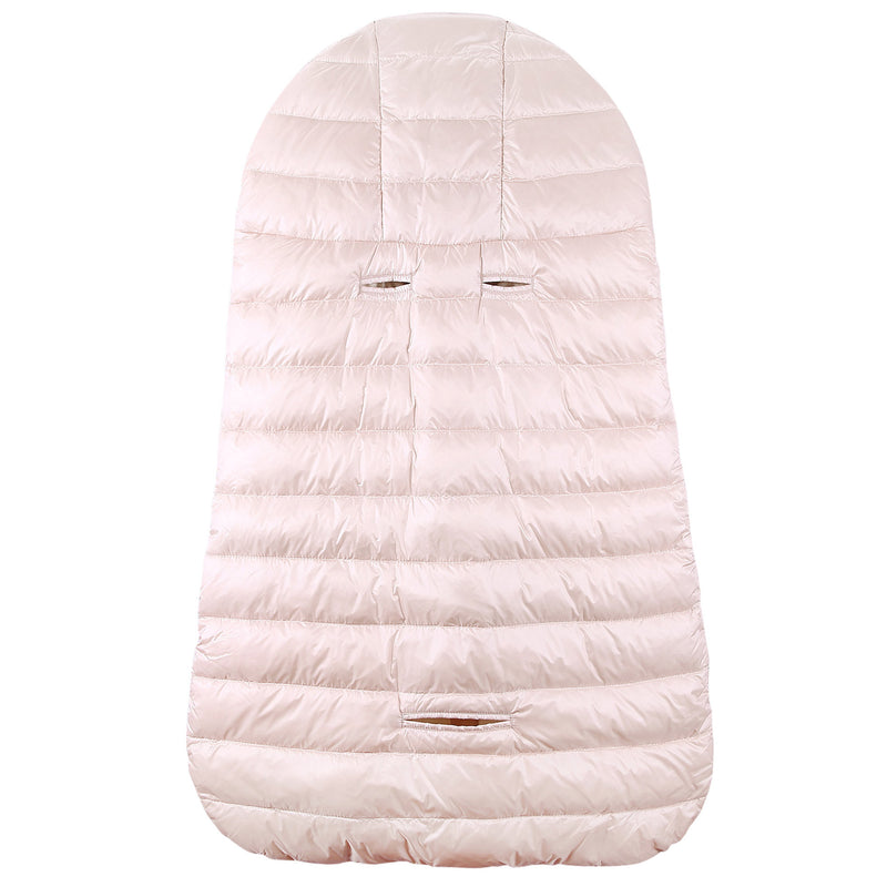 Baby Light Pink Down Padded 'Sacco' Sleeping Bag(74cm) - CÉMAROSE | Children's Fashion Store - 2