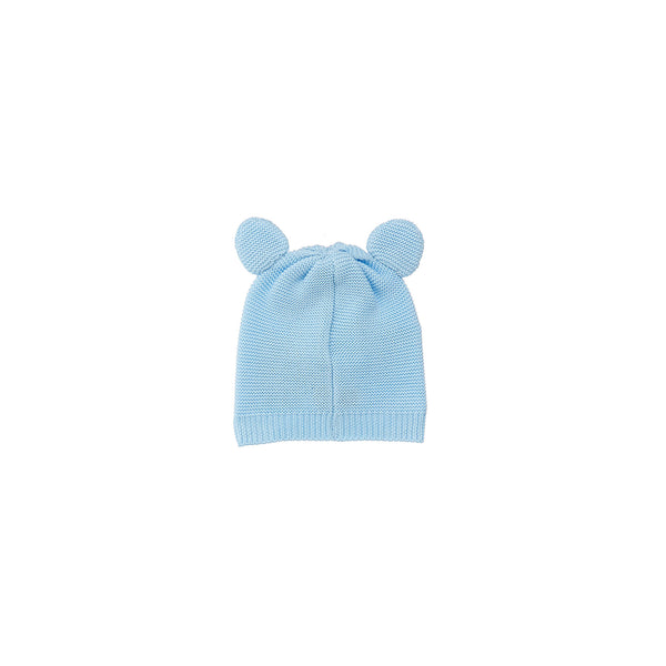 Baby Boys & Girls Blue Cotton Hat