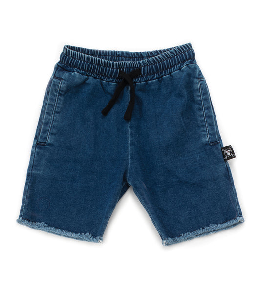 Baby Girls Denim Cotton Shorts