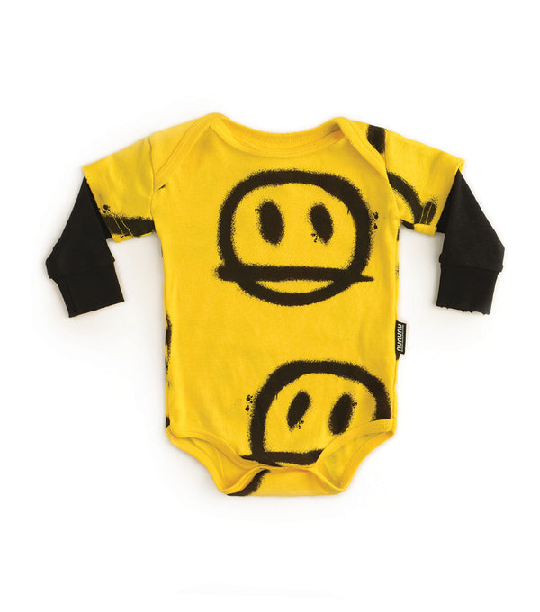 Baby Boys & Girls Yellow Romper