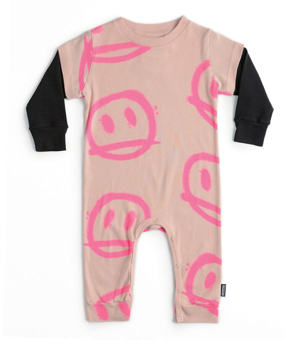 Baby Girls Pink Playsuit