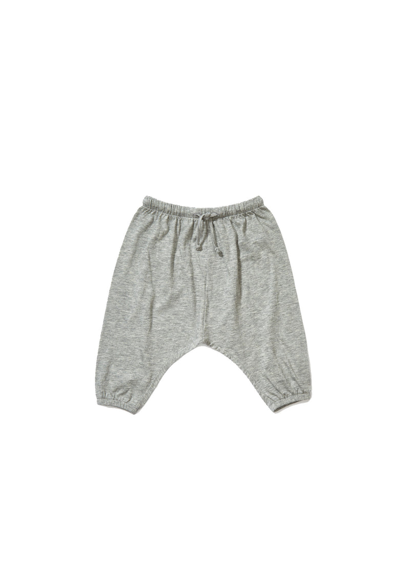 Baby Light Grey Jersey Trousers