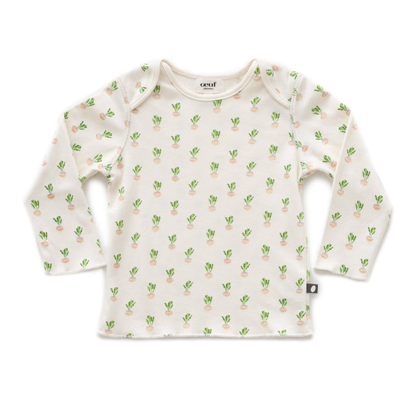 Baby Boys & Girls White Gardenia T-Shirt
