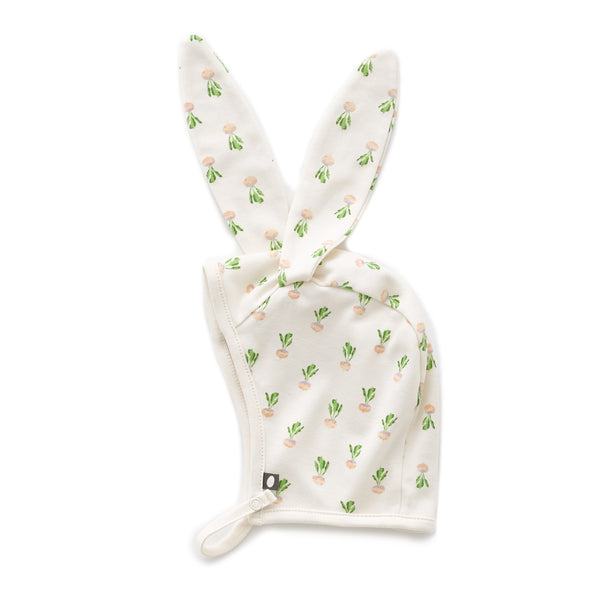 Baby Boys & Girls Gardenia Turnip Bunny Hat