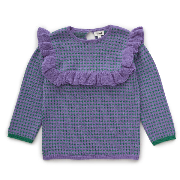Girls Lilac Frou Frou Jumper