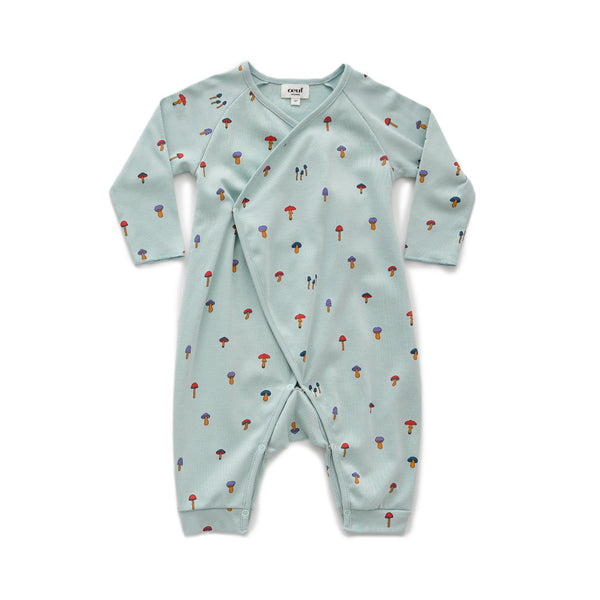 Baby Boys & Girls Sky Grey Romper