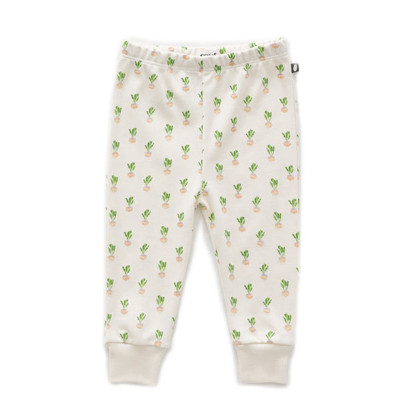 Baby Boys & Girls Gardenia Turnip Leggings