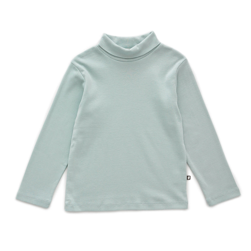 Girls Sky Grey Turtleneck