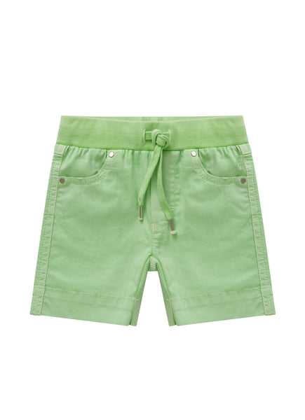 Boys Fluorescent Green Shorts