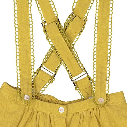 "Girls Mustard ""Olive"" Skirt"