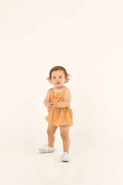 Baby Boys & Girls Toffee Cotton Shorts