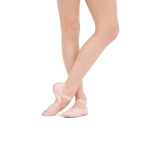 Girls Pale Pink Ballet Shoes