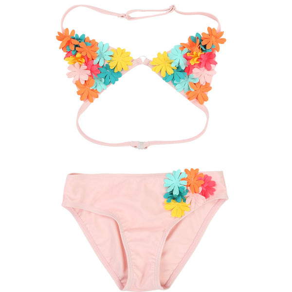 Girls Pink Nymphea Swimsuit