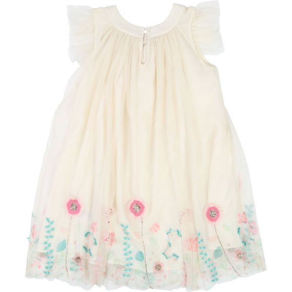 Girls Rice Flowers Dress