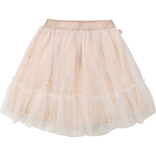 Girls Flesh Pink Skirt
