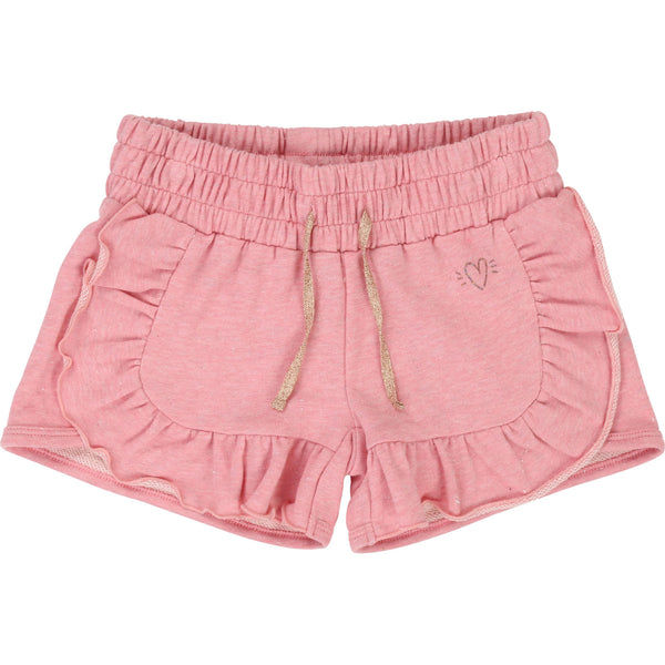 Girls Strawberry Cotton Shorts