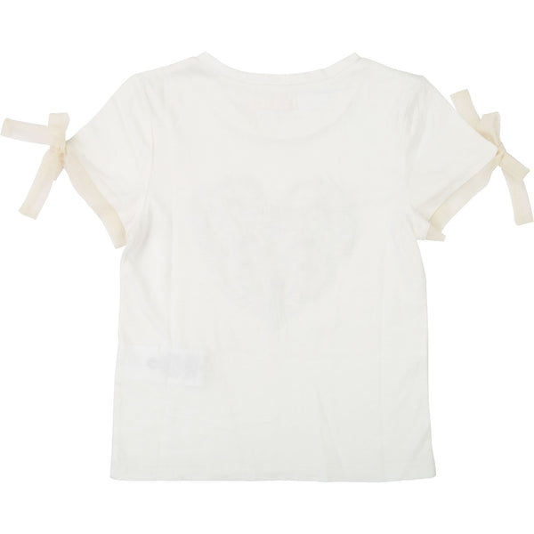 Girls Rice White T-shirt