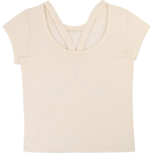 Girls Rice Cotton T-shirt