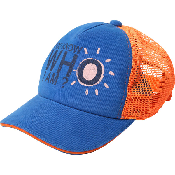 Boys Blue Cotton Hat