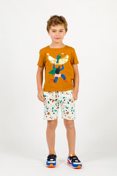 Boys Rice & Chromatic Ornament Shorts