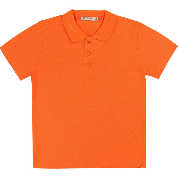 Boys Orange Polo Shirt