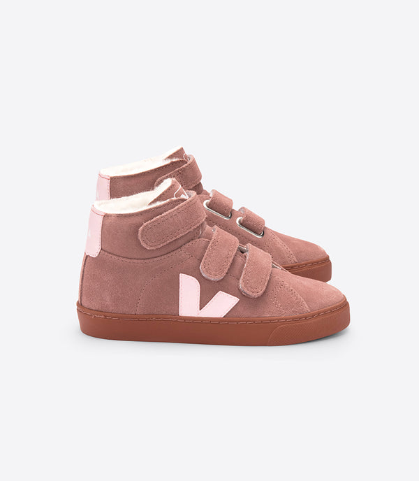 "Baby Girls Rust ""ESPLAR MID"" Leather Shoes"