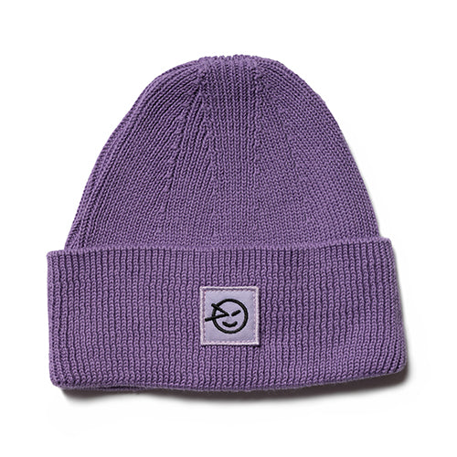 Girls Lilac Badge Hat