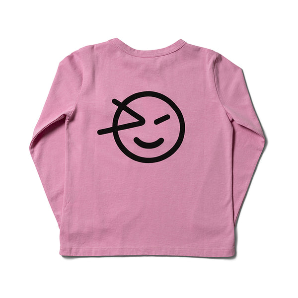 Girls Mallow Pink Organic Cotton T-Shirt