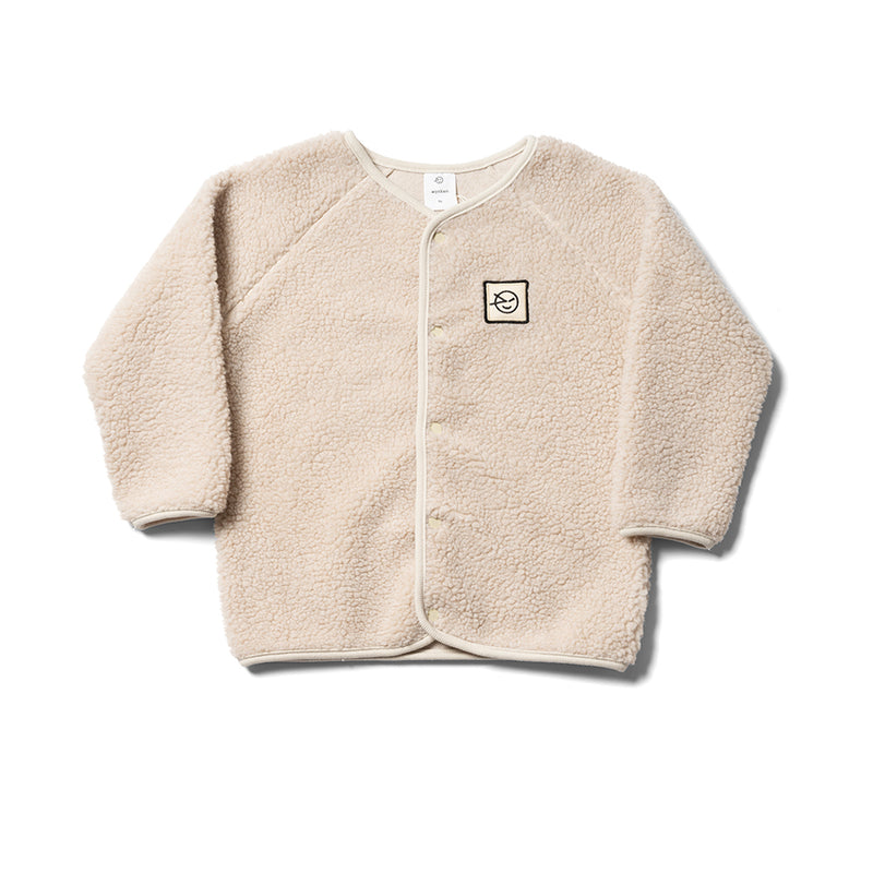 Boys & Girls Oatmeal Bomber Jacket