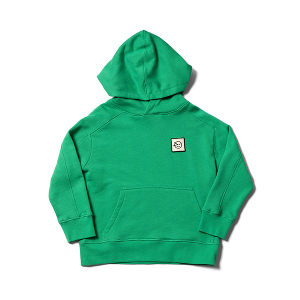 Boys & Girls Fiesta Green Organic Cotton Hoodie
