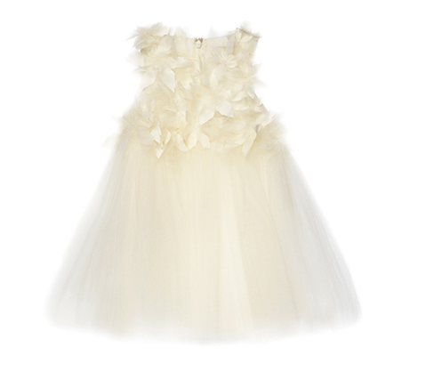 Baby Girls White 'On her wedding day' Dress