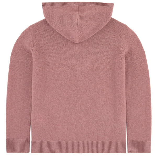 Girls Powder Pink Cashmere Sweater