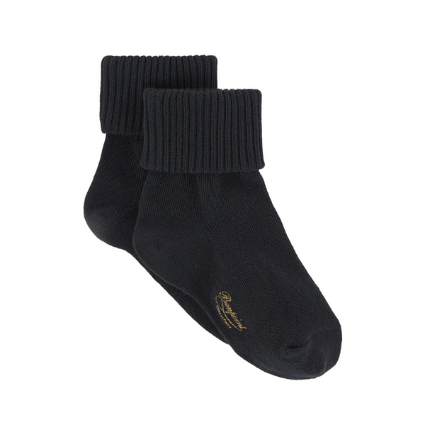 Girls Black Socks