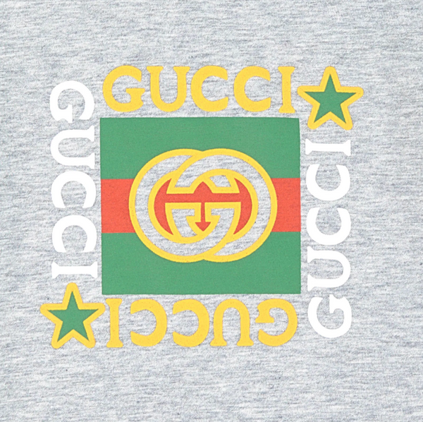 Baby Boys & Girls Grey GG T-Shirt