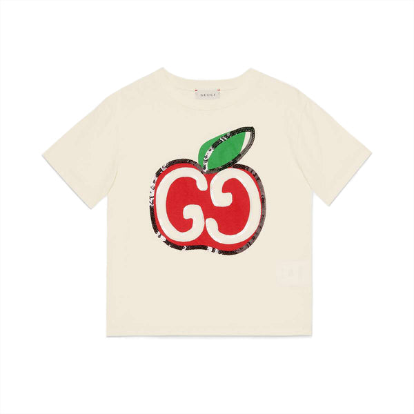 Boys & Girls Sunkissed GG Apple Print T-Shirt