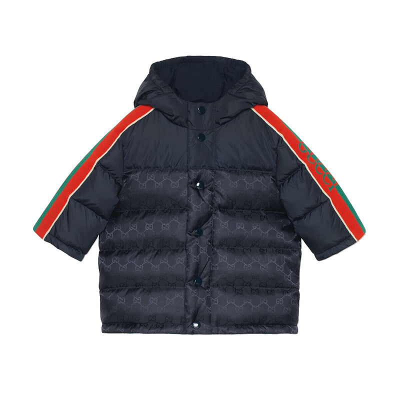 Baby Boys Navy Padded Down Jacket