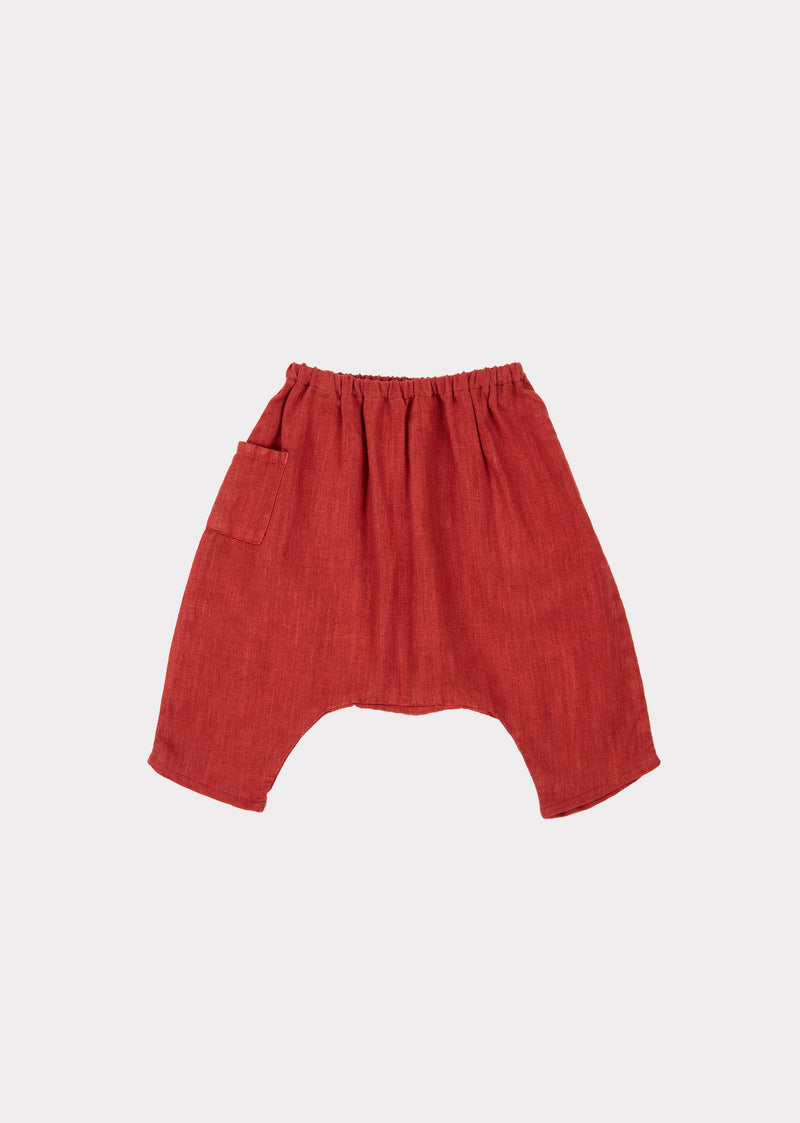 Baby Girls Red Trousers