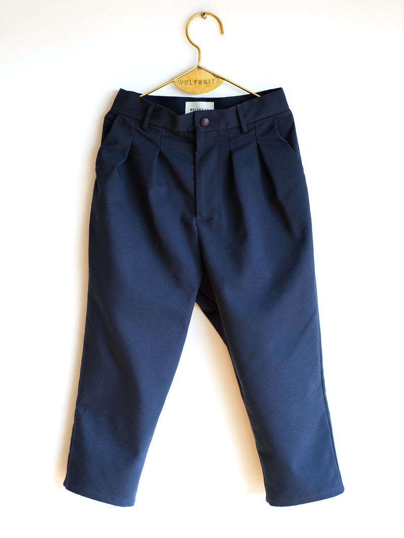 "Boys  Blue  ""ANDRE""  Cotton  Trousers"