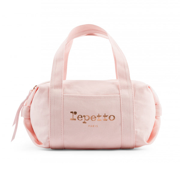 Girls Pale Pink Cotton Bag